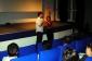 """Pierre Meynadier pendant le débat qui a suivi la projection de son film """"Le rêve de Brandon"""""""