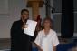 Jean-Marie Flower, président d'honneur et Martine Sornay, présidente de l'association TERRA festival